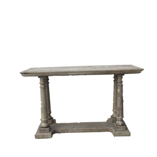 Grey Washed Console Table