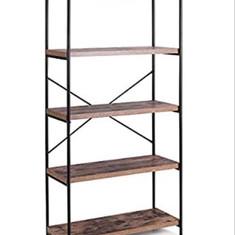 Wood & Metal Shelves