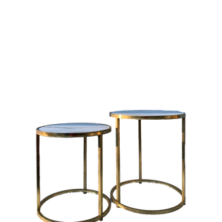 Marble & Gold End Tables