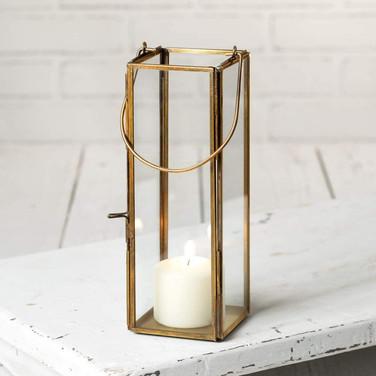 Skinny Brass Lanterns