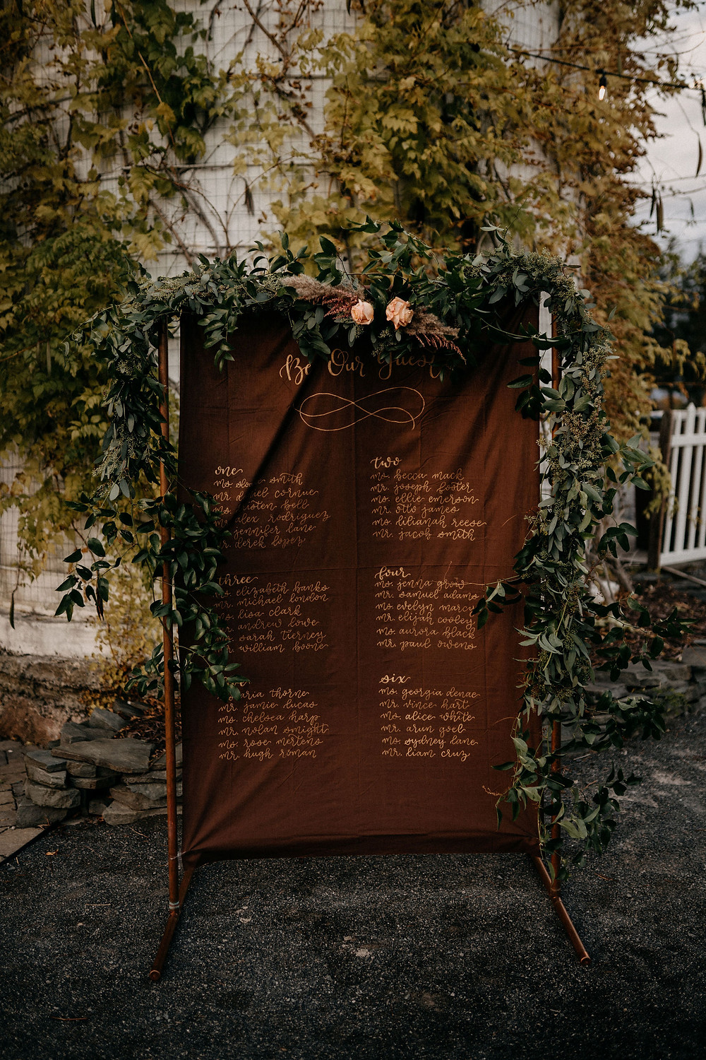 Rustic Seating Display: Warm & Rustic Styled Shoot at Hayloft in the Arch captured by Tracy Jade Photography featured on Pretty Little Vintage Co.