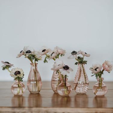 Blush Bud Vases