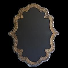 Wooden Medium Scroll Chalkboard