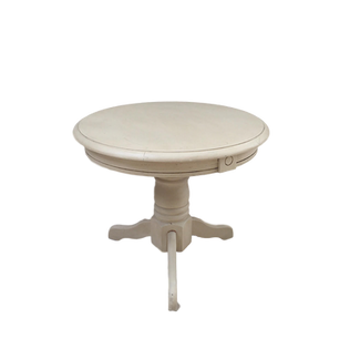 Low Ivory Pedestal Table