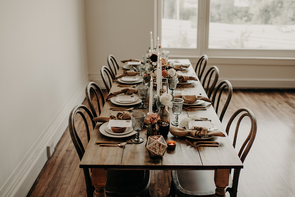 Fall wedding tabletop inspiration