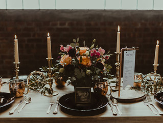 Industrial & Copper Styled Wedding Shoot at Smith Market
