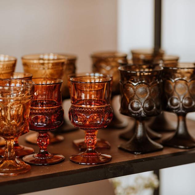 Colored Glassware