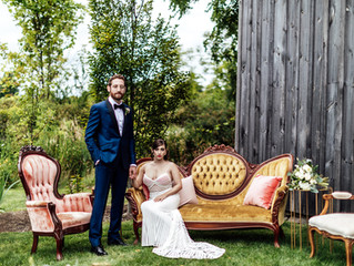 Whimsically Rustic Wedding at Grace & Gratitude in Ithaca, New York