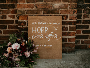 Edgy Industrial Wedding Inspiration at Garland City Beer Works