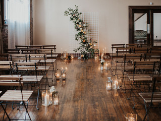 An Earthy and Industrial Fall Wedding Styled Shoot Collaboration in Upstate New York