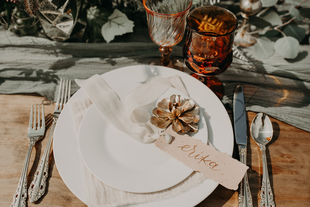 Wedding escort card inspiration: Boho TerraCotta Wedding Styled Shoot at Red Barn 20