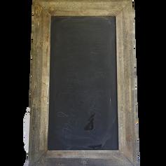 Large Walnut Framed Chalkboard