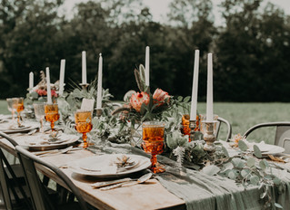 Boho Terracotta & Blush Wedding Styled Shoot at Red Barn 20 in Cazenovia, New York