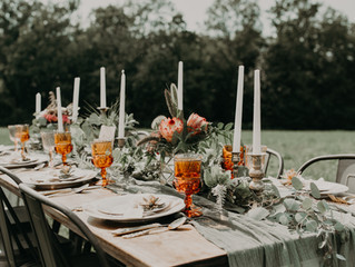 Boho Terracotta & Blush Wedding Styled Shoot at Red Barn 20 in Cazenovia, New York