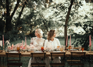 Dreamy Pink Bohemian Wedding Inspiration at The Maples Estate in Schoharie, NY