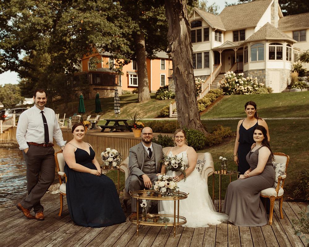 Al Fresco Wellesley Island New York Wedding on the River | Pretty Little Vintage Co.