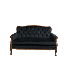 Ebony Loveseat