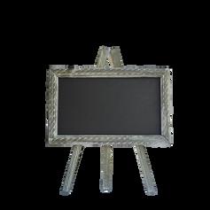 Grey Easel Chalkboard