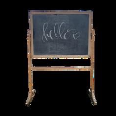 Schoolhouse Chalkboard