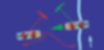 image de deux kitesurfeurs qui veulent prendre une vague