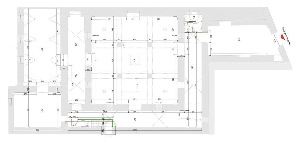 Espacio Villa del Arte_Plano