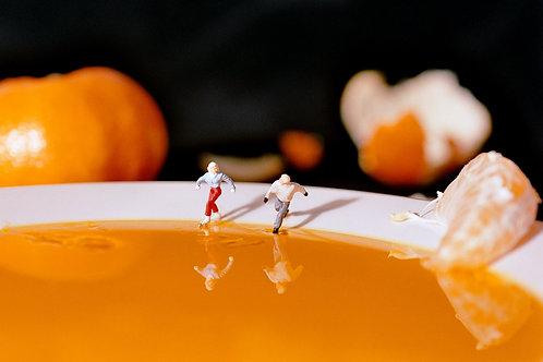 Orange Skating