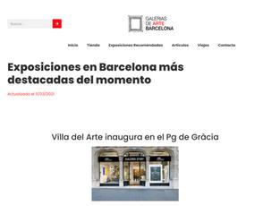 Galerias de Arte Barcelona