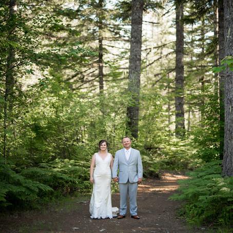 Haley + Justin's Campground Wedding