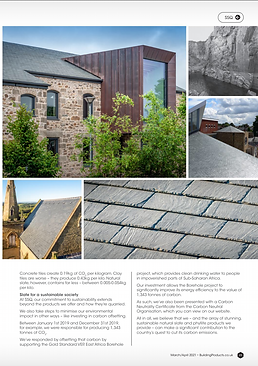 Building Products Magazine March / April 2021 - Property Photographer Oxford