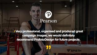 Pearson Testimonial