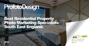 WINNER: BUILD's Best Residential Property Photo Marketing Specialists in South-East England 2019
