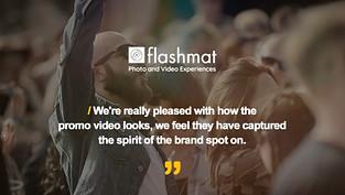 Flashmat Testimonial