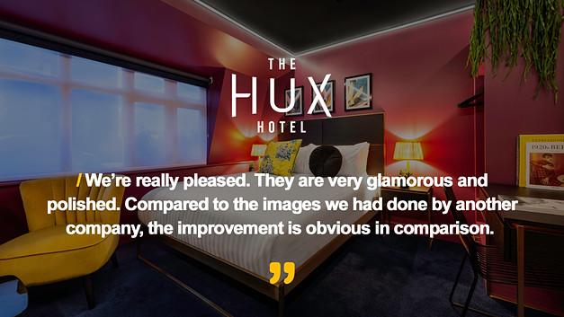The Hux Hotel Testimonial