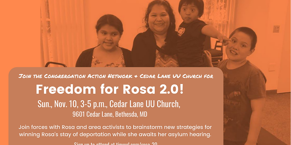 Freedom for Rosa 2.0!
