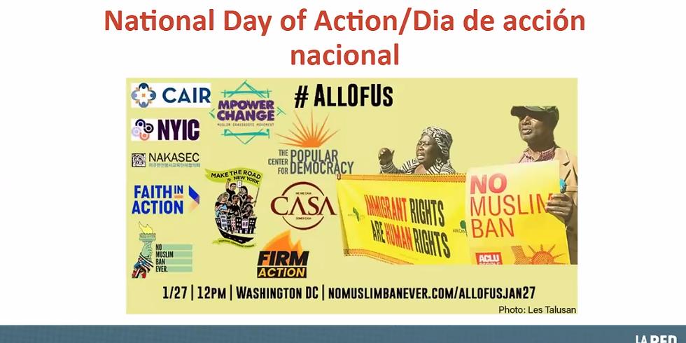 Nationwide Day of Action Aparte la fecha: Día de acción nacional