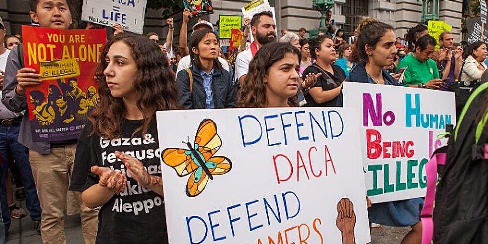 Support DACA Marchers Coming to DC