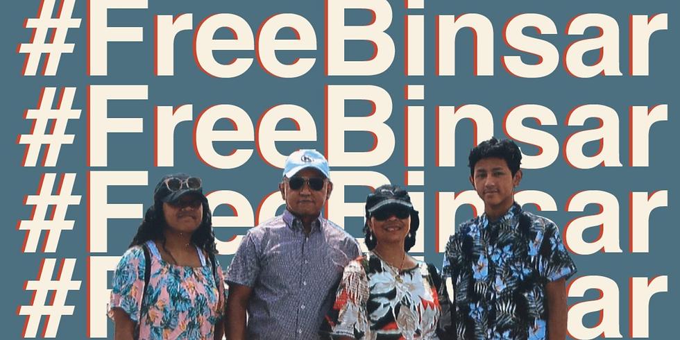 #FreeBinsar Vigil