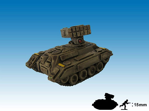 15mm Light Tank with Missile Launcher