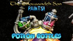 Warhammer painting tutorial - Potion Bottles