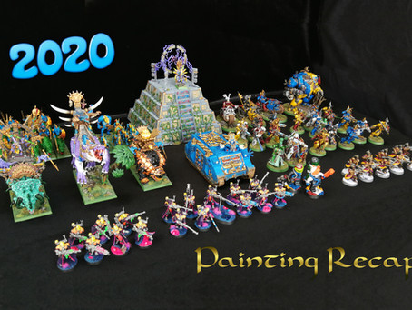 2020 - Reviewing what I've painted last year.
