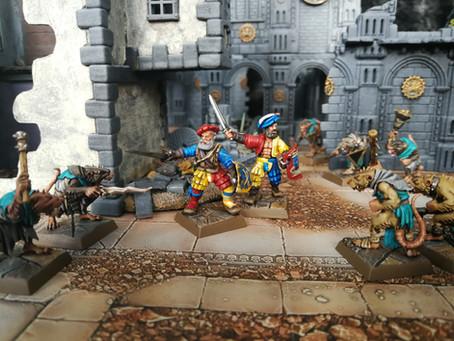 A Mordheim miniature collection