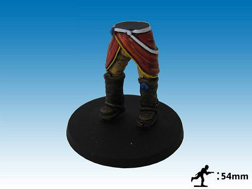 54mm Officer of the Line Legs