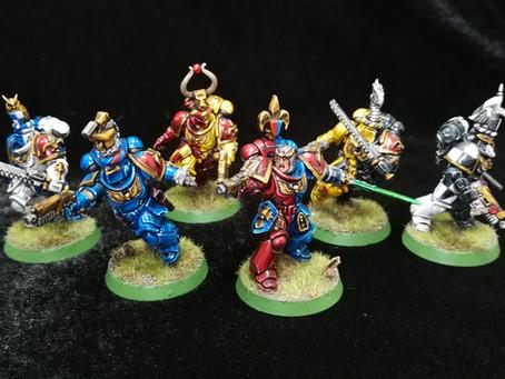 Chevaliers de Imperator - A Primaris Space Marine Chapter
