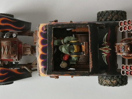 A collection of Ork Trukks!