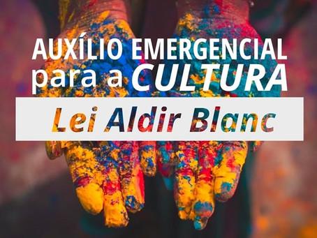 Cadastro para o Auxílio Emergencial para profissionais da cultura.