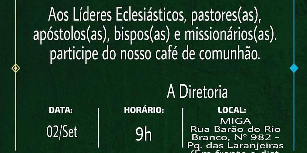 Café de comunhão da OMEAM
