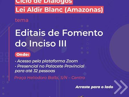 Reuniões para entender a Lei nº 14.017/2020, a Lei Aldir Blanc... (Auxílio Emergencial pra Artistas)