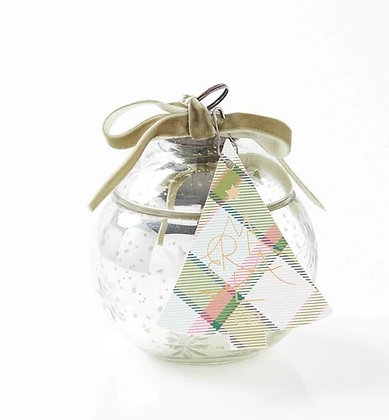 Extra Large Ornament Candle-Sea Pines