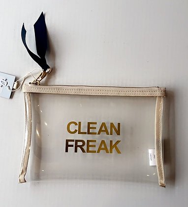 "ClearAccessory Pouch ""Clean Freak"""