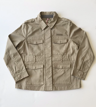 Garment Dyed Utility Jacket